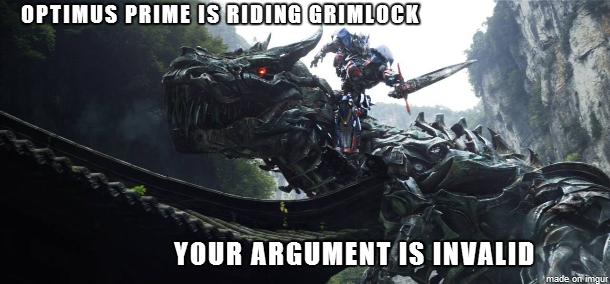 OptimusPrimeisridingGrimlockYourargumentisinvalid
