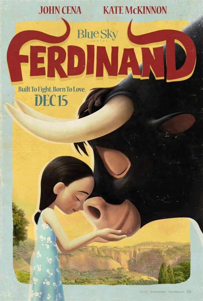 o-touro-ferdinando-poster-vintage