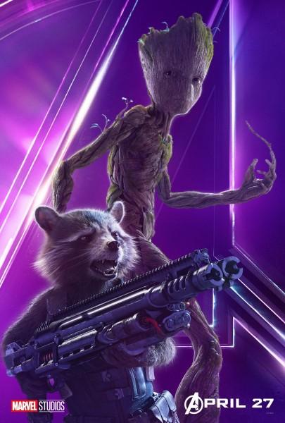 avengers-infinity-war-poster-rocket-groot