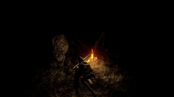 Fogueira de Dark Souls